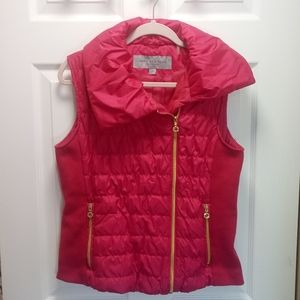 Marc New York Andrew Marc Pink Puffer Vest